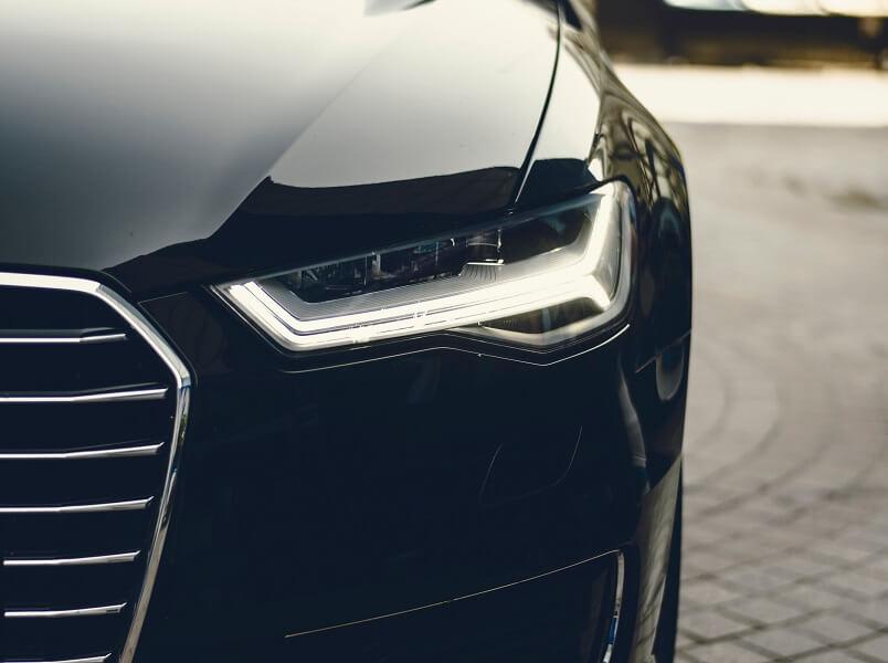 car black front
