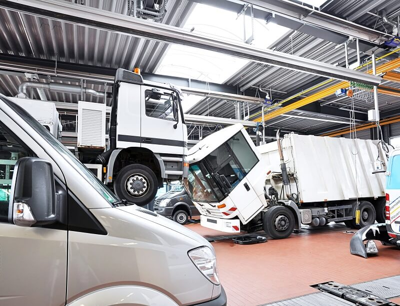 fleet heavy vehicles maintenance